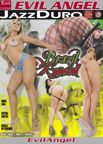 Cheap Brazil Xposed porn DVD