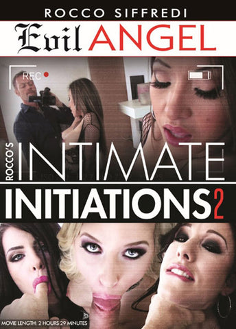 Rocco's Intimate Initiations 2 Sex DVD