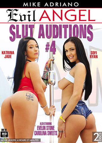 Slut Auditions 4 (2 Disc Set) Adult Sex DVD