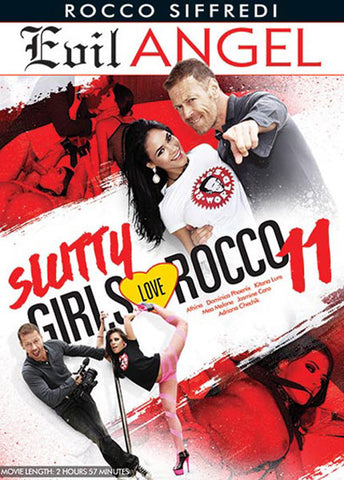 Slutty Girls Love Rocco 11 XXX Adult DVD
