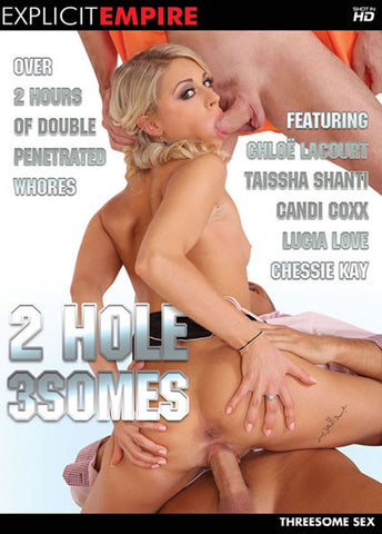 2 Hole 3Somes XXX DVD