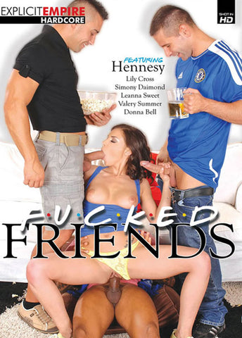 Fucked Friends Adult DVD