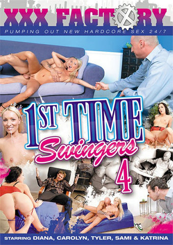 1st Time Swingers 4 Adult DVD