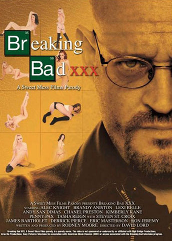 Cheap Breaking Bad XXX porn DVD