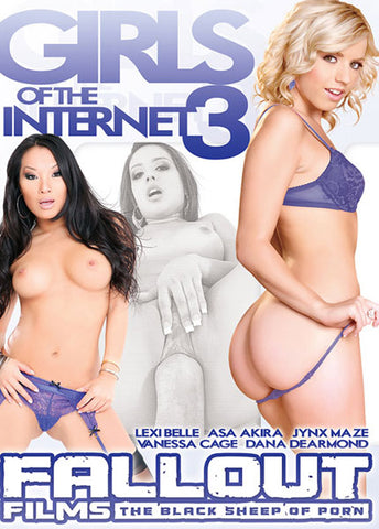 Girls Of The Internet 3 XXX Adult DVD