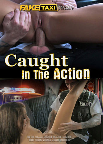 Caught In The Action XXX DVD