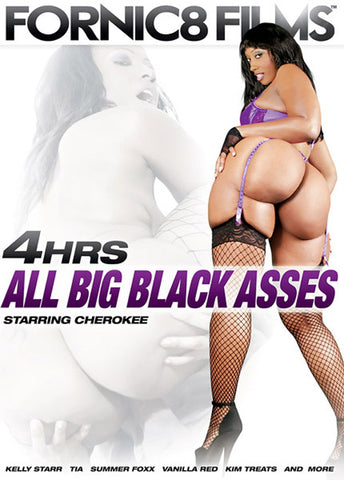 All Big Black Asses Adult Movies DVD