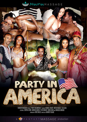 Party In America Adult Sex DVD