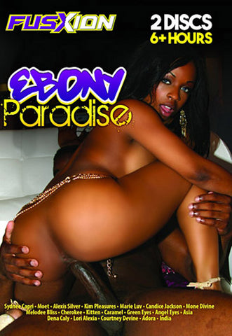 Ebony Paradise (2 Disc Set) Adult DVD