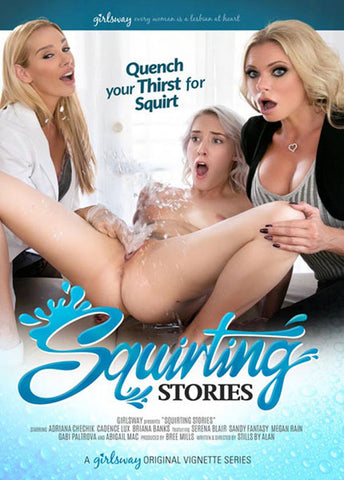 Squirting Stories Adult Movies DVD