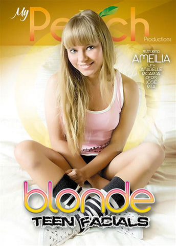 Blonde Teen Facials XXX Adult DVD