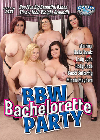 Cheap BBW Bachelorette Party porn DVD