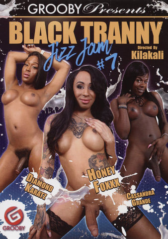 Black Tranny Jizz Jam 7 Adult DVD