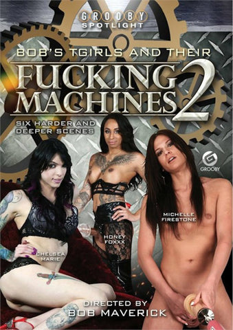 Bob's TGirls And Their Fucking Machines 2 Adult Movies DVD