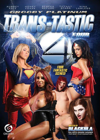Trans-Tastic Four Adult DVD
