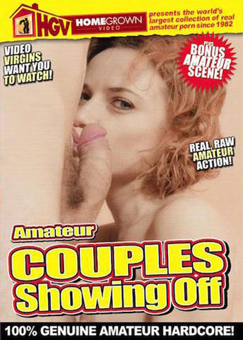 Cheap Amateur Couples Showing Off porn DVD