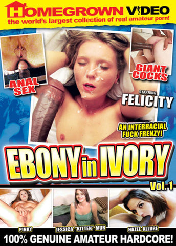 Cheap Ebony In Ivory porn DVD