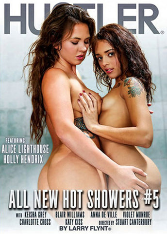 All New Hot Showers 5 Adult Sex DVD