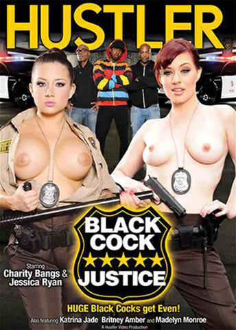 Black Cock Justice XXX Adult DVD