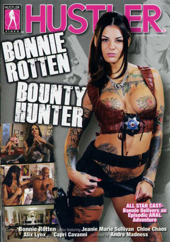 Bonnie Rotten Bounty Hunter XXX DVD