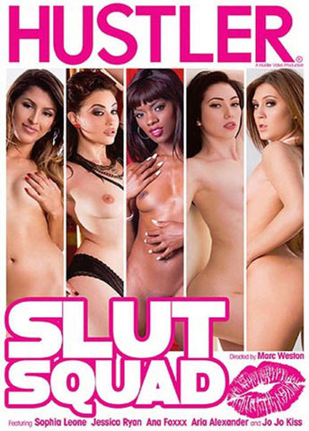 Slut Squad Sex DVD