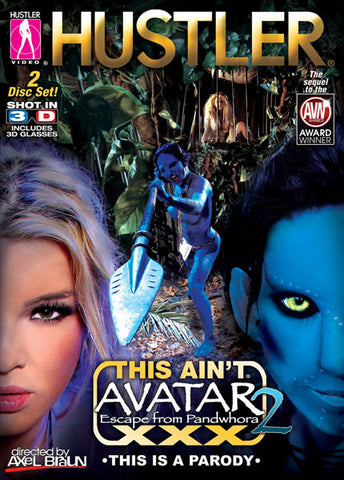 Cheap This Ain't Avatar XXX 2 3D: Escape From Pandwhora porn DVD