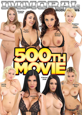 500th Movie Adult DVD