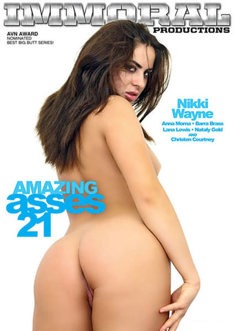 Amazing Asses 21 XXX Adult DVD
