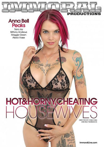 Hot & Horny Cheating Housewives Adult Movies DVD
