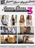 James Deen's Amateur Applications 3 Adult Sex DVD