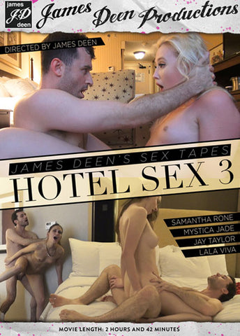 James Deen's Sex Tapes: Hotel Sex 3 Sex DVD