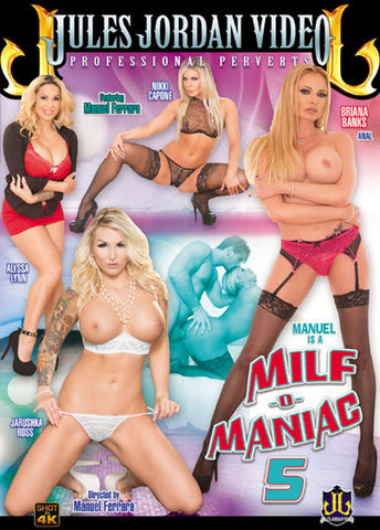 Manuel Is A MILF-O-Maniac 5 Adult DVD