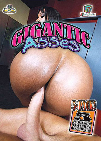 Cheap Gigantic Asses 5 Pack (5 Disc Set) porn DVD