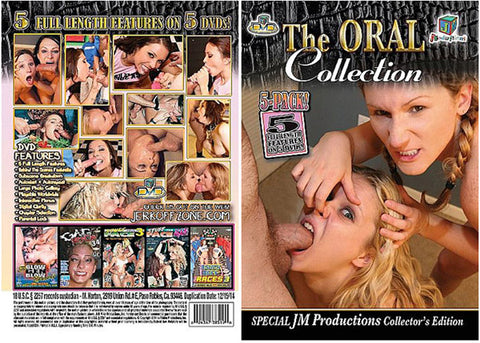 Cheap The Oral Collection 5 Pack (5 Disc Set) porn DVD