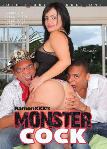 Ramon XXX's Monster Cock Adult Sex DVD