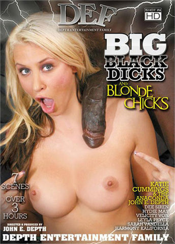 Big Black Dicks And Blonde Chicks Sex DVD