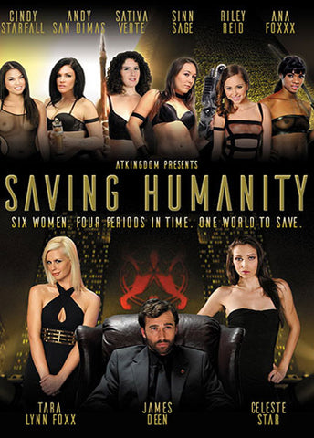 Cheap Saving Humanity porn DVD