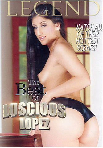 The Best Of Luscious Lopez Sex DVD