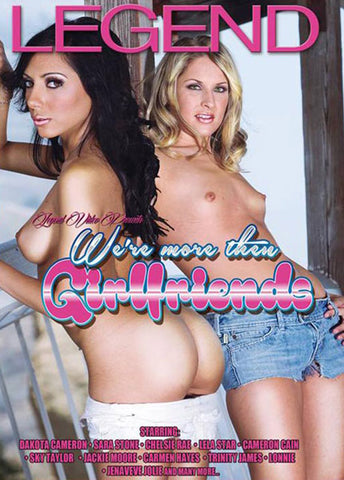 We're More Then Girlfriends XXX Adult DVD