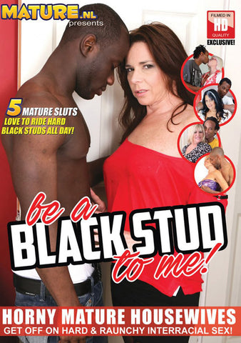 Be A Black Stud To Me! Adult Movies DVD