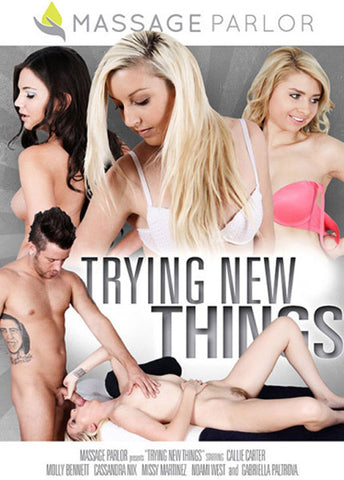 Trying New Things Sex DVD