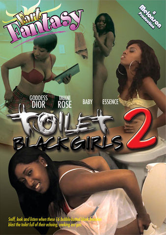 Cheap Fart Fantasy Toilet Black Girls 2 porn DVD