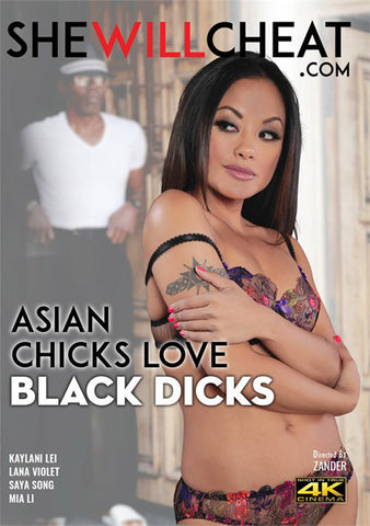 Asian Chicks Love Black Dicks Adult Sex DVD