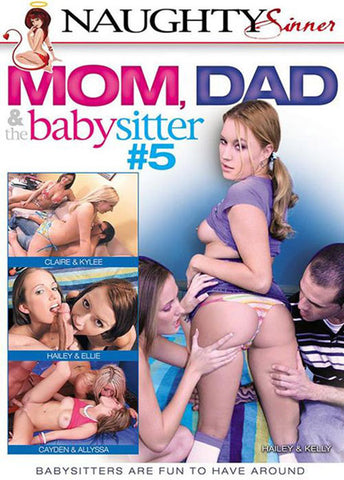 Cheap Mom, Dad & The Babysitter 5 porn DVD