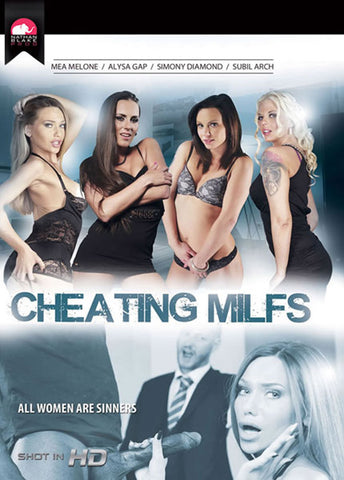 Cheating MILFs Adult Movies DVD