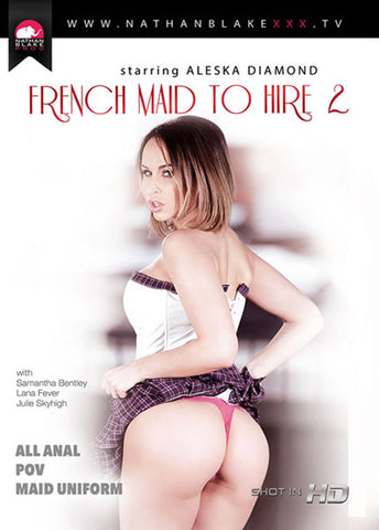 French Maid To Hire 2 Adult DVD