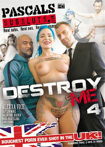 Destroy Me 4 Sex DVD