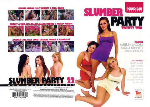 Cheap Slumber Party 22 porn DVD
