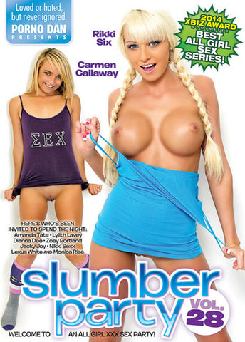 Cheap Slumber Party 28 porn DVD