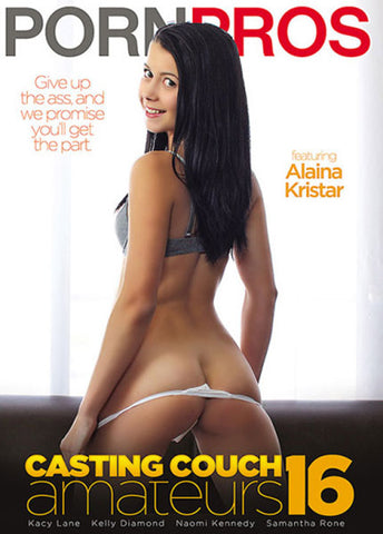 Casting Couch Amateurs 16 Adult DVD